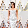 Priyanka Chopra in a Quilted Column Dress