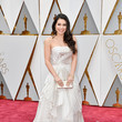 Auli'i Cravalho in Art Deco White and Gold