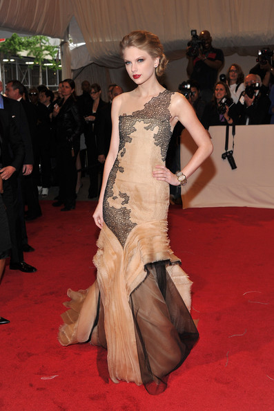 J. Mendel for the 2011 Met Gala