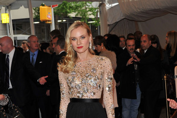 Diane Kruger Makes Best Dressed List at Met Gala 2011