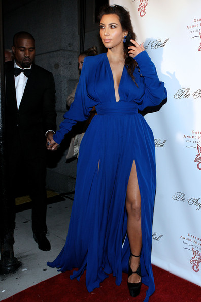 Turning Heads In Royal Blue At A 2012 NYC Event
