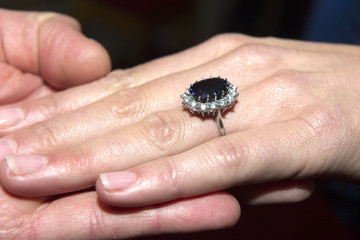 Kate Middleton Engagement Ring Bling