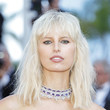 Karolina Kurkova's Messy Blunt Bangs and Lob at the Cannes Film Festival