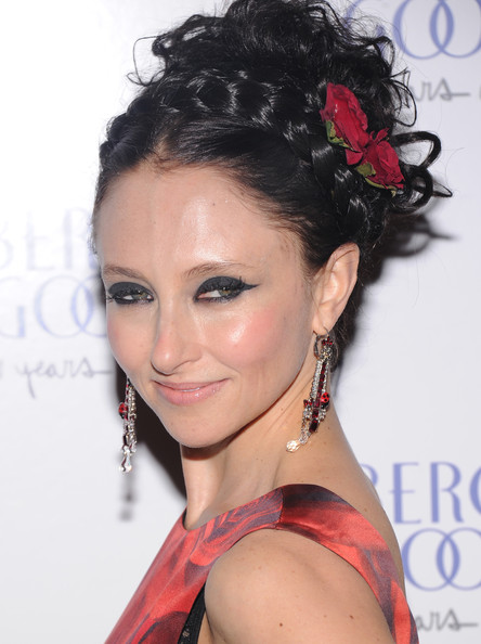 Stacey Bendet's Rose-Accented Updo