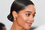Actress Laura Harrier attends the screening of