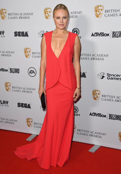 Malin Akerman At The British Academy Game Awards