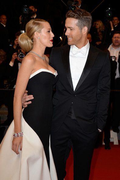 Blake Lively And Ryan Reynolds At The 2014 Cannes Film Festival