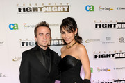 Actor Frankie Muniz and Elycia Turnbow attend Celebrity Fight Night XVI on March 20, 2010 at the JW Marriott Desert Ridge in Phoenix, Arizona.