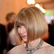 Anna Wintour's Sleek Bob With Bangs