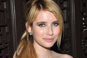 Actress Emma Roberts attends the after party for the Cinema Society with Alice+Olivia screening of