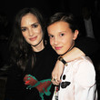 Winona And Millie Front Row At NYFW Spring 2017
