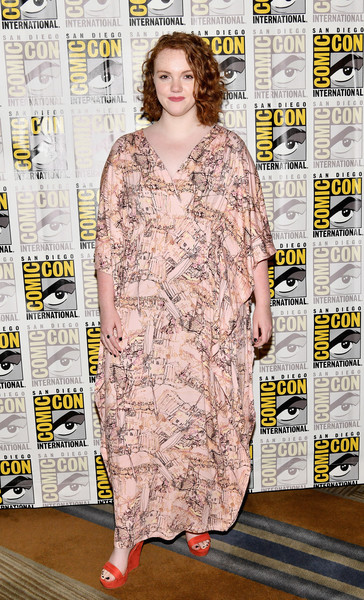 Shannon Purser At Comic Con 2017