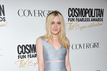 Dakota Fanning Is Sweet and Stylish in Miu Miu