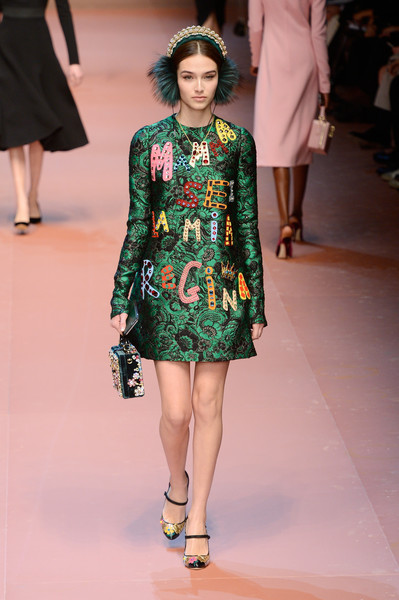 7becfe0c5a Dolce & Gabbana, Fall 2015 - The Best Looks at Milan Fashion Week ...