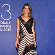 Ashley Greene in Stripes and Lace