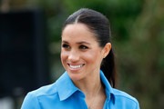 Meghan, Duchess of Sussex at Tupou College on October 26, 2018 in Nuku'alofa, Tonga. The Duke and Duchess of Sussex are on their official 16-day Autumn tour visiting cities in Australia, Fiji, Tonga and New Zealand.