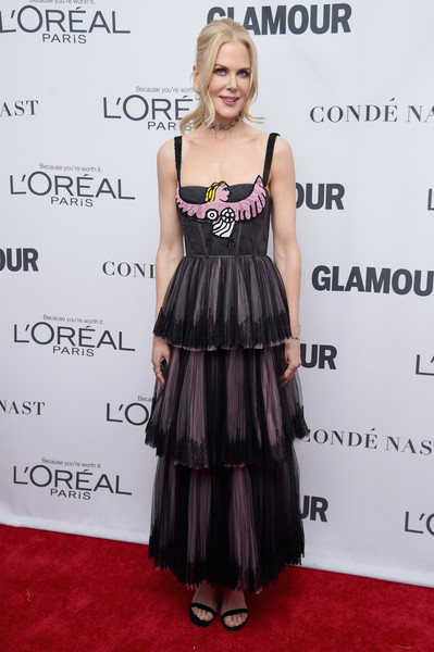 Nicole Kidman in Christian Dior at Glamour's Women of the Year Awards