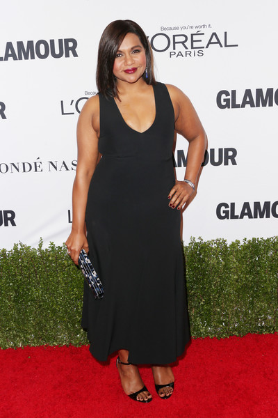 Mindy Kaling in an LBD