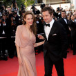 Wearing A Pale Pink Gown For The 'Inglorious Basterds' Cannes Premiere