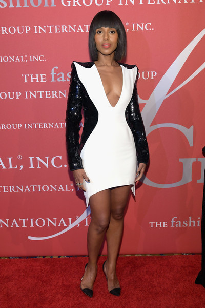 Kerry Washington in Mugler at the FGI Night of Stars
