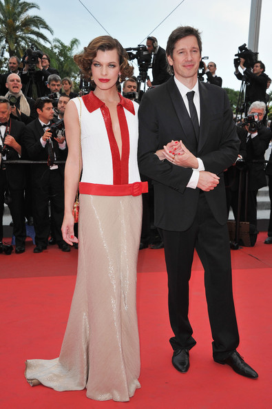 Milla Jovovich And Paul W. S. Anderson At The 2011 Cannes Film Festival