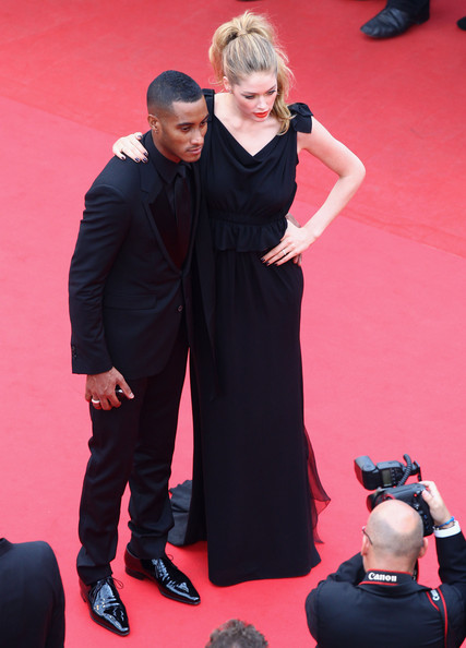 Doutzen Kroes And Sunnery James At The 2011 Cannes Film Festival