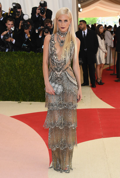 Poppy Delevingne in Marchesa, 2016
