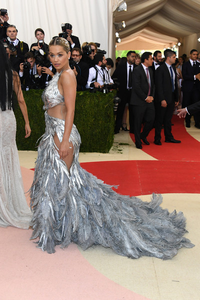 Rita Ora in Vera Wang at the 2016 Met Gala