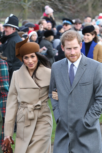 Meghan Markle's Early Christmas Attendance