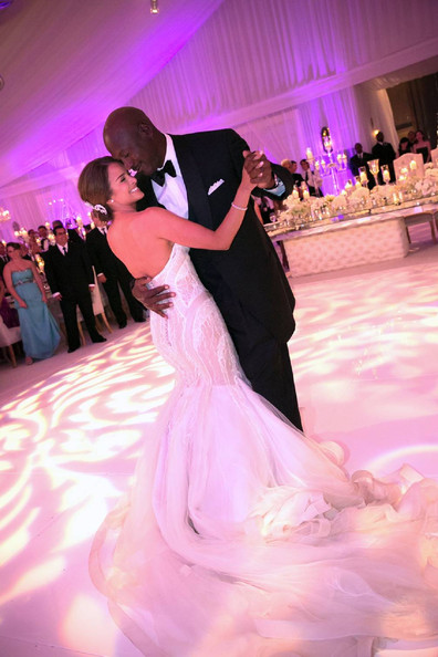 Michael Jordan and Yvette Prieto - 2013