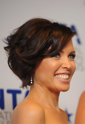 Dannii Minogue's Bob Hair Pictures