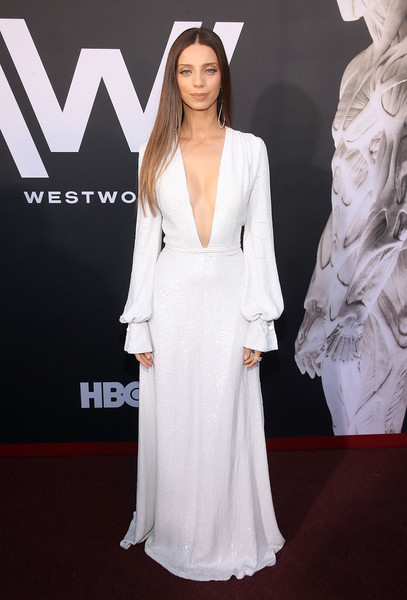 Angela Sarafyan In Honor At The 'Westworld' Premiere
