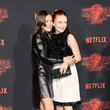 Millie and Sadie At The 'Stranger Things 2' Netflix Premiere