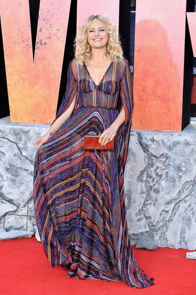 Malin Akerman In Missoni At A London Premiere