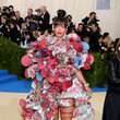 Rihanna in Comme des Garcons at the Met Gala