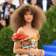 Zendaya Coleman's Voluminous Curls at the Met Gala