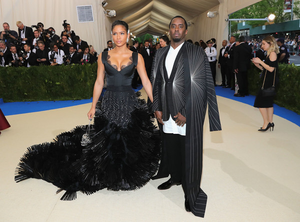 Cassie and Sean Combs