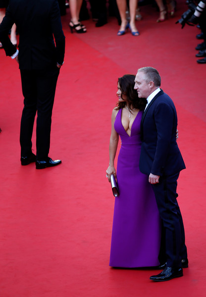 Salma Hayek And Francois-Henri Pinault At The 2015 Cannes Film Festival