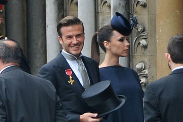 Victoria Beckham Attends Royal Wedding In Dress And Philip Treacy Hat