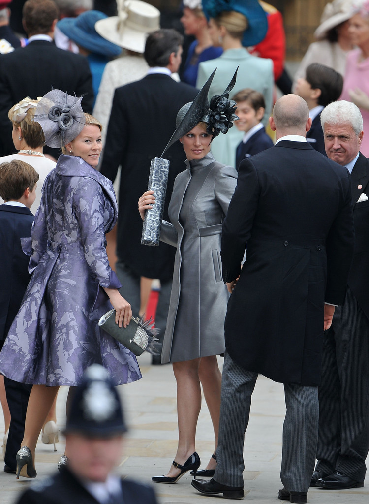 royal fashion maven zara phillips royal wedding best