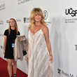 Goldie Hawn at the Launch of the Parker Institute for Cancer Immunotherapy