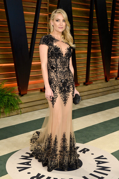 Kate Wearing Zuhair Murad At The Vanity Fair Oscar Party, 2014