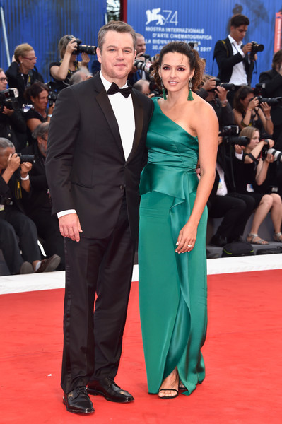 Matt And Luciana Damon At The Cannes Film Festival