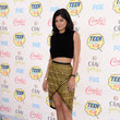 Cute And Caj In A Crop And High-Low Skirt By Sass & Bide