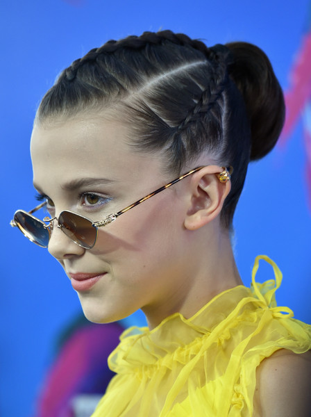 Millie Bobby Brown's Braids at the Teen Choice Awards