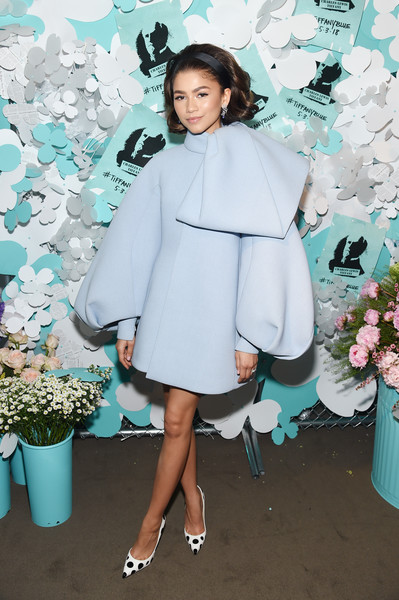 Zendaya Coleman In Dice Kayek Couture At A Tiffany Event