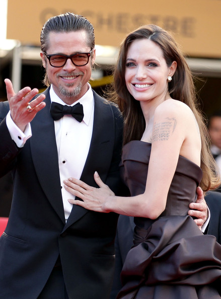 Angelina Jolie And Brad Pitt At The 2011 Cannes Film Festival