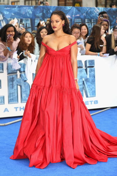 Rihanna in Giambattista Valli at the 'Valerian And The City Of A Thousand Planets' European Premiere