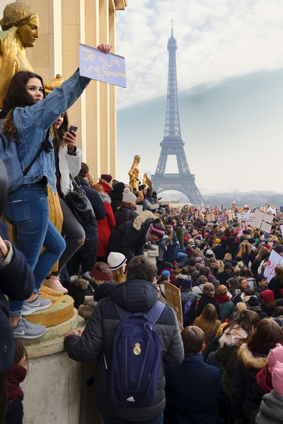 Powerful Pictures of Women's Marches Around the World