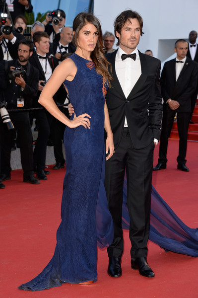 Ian Somerhalder And Nikki Reed At The 2015 Cannes Film Festival